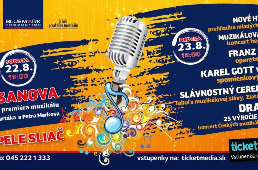 Muzikálový festival súčasťou aj tohtoročného leta